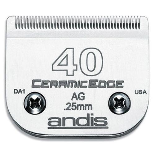 Andis CeramicEdge nr 40 - ostrze chirurgiczne 0,25mm