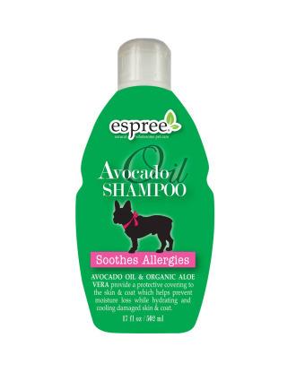 Espree Avocado Oil Shampoo - szampon z olejkiem avocado i organicznym aloesem, łagodzący podrażnienia i świąd skóry