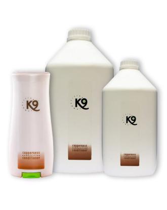 K9 Copperness Conditioner - odżywka do rudej i brązowej sierści, koncentrat 1:40
