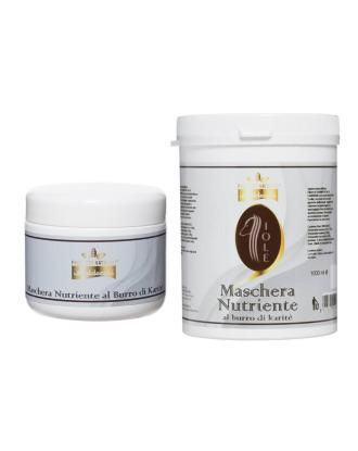 Baldecchi Iole Nourishing Mask -  profesjonalna, odżywcza maska do długiej sierści, z masłem karite, koncentrat