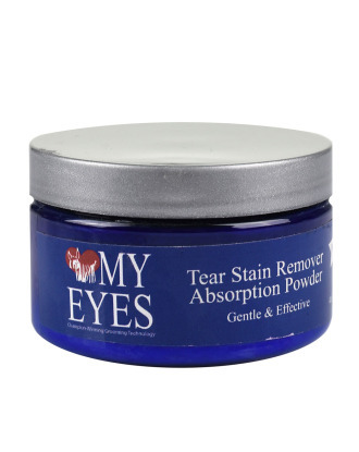 Pure Paws Love My Eyes Tear Stain Remover Absorption Powder 118 ml - puder absorbujący biały, krok 4