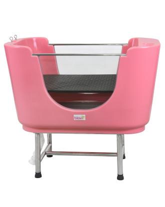 Blovi Dog Small Bath - wanna do kąpieli małych zwierząt, różowa