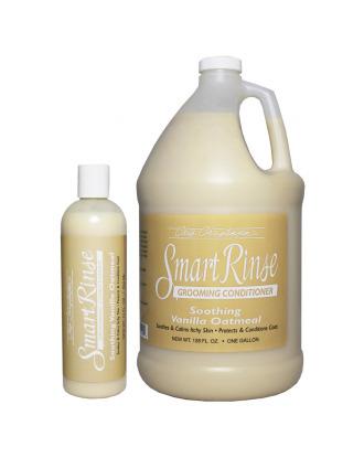 Chris Christensen Smart Rinse Vanilla Oatmeal Conditioner - odżywka łagodząca do podrażnionej skóry, z ekstraktem z owsa, koncentrat 1:8