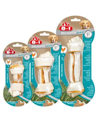 8in1 Dental Delights Bone - przysmak dla psa, wspiera zdrowie zębów
