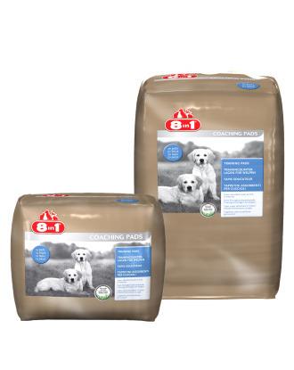 8in1 Pads 58x56cm - maty absorbujące do nauki czystości, o zapachu świeżej trawy