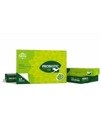 Pokusa GreenLine Forte Probiotic 14tbl. - probiotyk dla psów i kotów, wspiera florę bakteryjną jelit