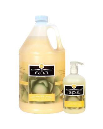 Best Shot Spa Oatmeal Body Wash - relaksacyjny płyn myjący dla suchej i wrażliwej skóry o urzekającym zapachu ciepłej wanilii i cytryny, koncentrat 1:10