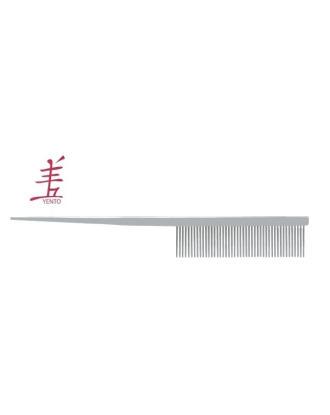 Profesjonalny, metalowy grzebień ze szpikulcem Yento, 18,5cm