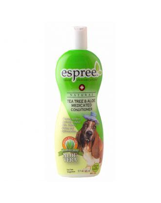 Espree Tea Tree & Aloe Medicated Conditioner 355ml - odżywka łagodząca z olejkiem z drzewa herbacianego, koncnetrat 1:5
