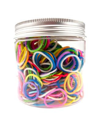 Shernbao Latex Bands - kolorowe gumki lateksowe 500 sztuk