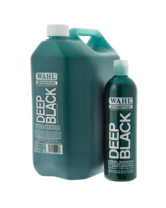 Wahl Deep Black Shampoo - profesjonalny szampon do czarnej i ciemnej sierści, koncentrat 1:15