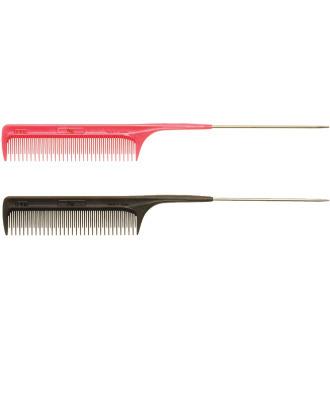 Utsumi BW Carbon Ultem #140 Comb 22,5cm -  profesjonalny, najwyższej jakości grzebień ze szpikulcem z włókna węglowego