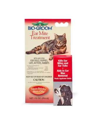 Bio-Groom Ear Mite Treatment - balsam insektobójczy do uszu