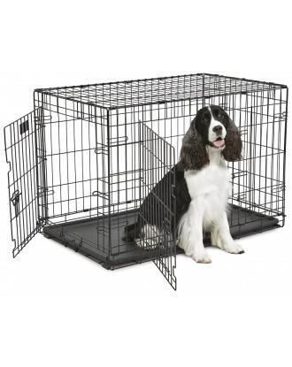 MidWest ConTour 836 DD rozmiar L - dwudrzwiowa klatka kennelowa dla psa, 92x59x62cm