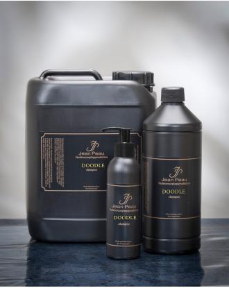 Jean Peau Doodle Shampoo - profesjonalny szampon zwiększający objętość i ułatwiający rozczesywanie włosa gęstego i kręconego, koncentrat 1:4