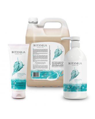 Botaniqa Show Line Soothing&Shiny Coat Shampoo - szampon do bardzo wrażliwej lub podrażnionej trymowaniem skóry