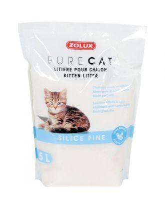 Zolux PureCat Kitten Litter 5L - żwirek silikonowy drobny dla kociąt