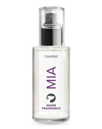Charme Mia Warm Fragrance 50ml - perfumy dla psów o świeżym i przyjemnym zapachu cytrusów z nutką cynamonu i piżma