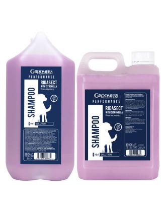 Groomers  Performance Ridasect Shampoo -  szampon przeciw pchłom i kleszczom, z citronellą, koncentrat 1:10
