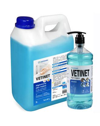 Eurowet Vetinet - higieniczny płyn do mycia rąk i powierzchni