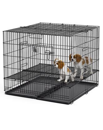 MidWest Puppy Playpen kojec/klatka do odchowu szczeniąt 91x91x76cm, rozmiar M