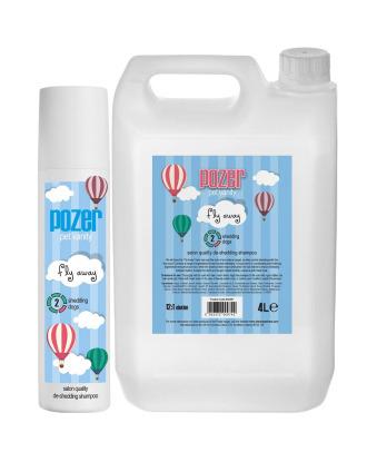 Pozer Fly Away Shampoo - szampon ograniczający wypadanie włosa, koncentrat 1:12