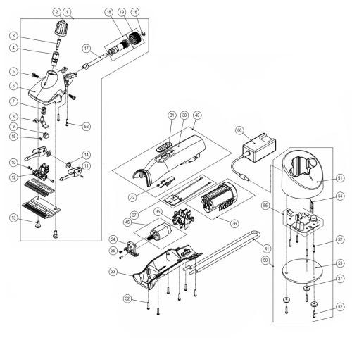 Części zamienne do maszynki Heiniger Xplorer