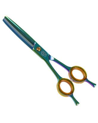 """P&W Hulk Left Thinning Scissorss 6,5"""" - degażówki jednostronne dla osób leworęcznych, 46 ząbków"""