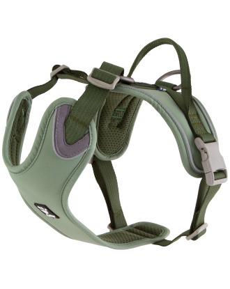 Hurtta Weekend Warrior Harness Eco Hedge - pochodzące z recyklingu szelki dla aktywnych psów