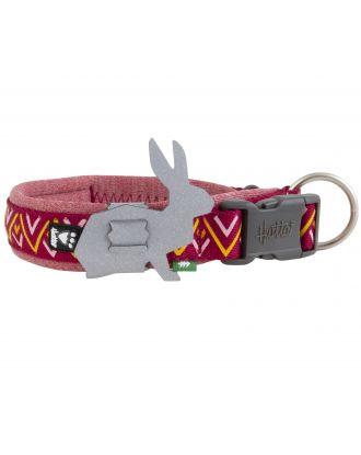 Hurtta Razzle-Dazzle Collar Beetroot - regulowana obroża dla psa