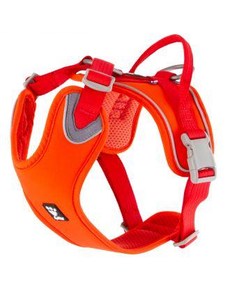 Hurtta Weekend Warrior Harness Eco Rosehip - pochodzące z recyklingu szelki dla aktywnych psów