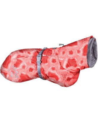 Hurtta Extreme Warmer Coral Camo - wodoodporna kurtka zimowa dla psa, z podszewką utrzymującą ciepło
