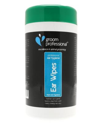 Groom Professional Ear Wipes 50 sztuk - chusteczki do czyszczenia uszu
