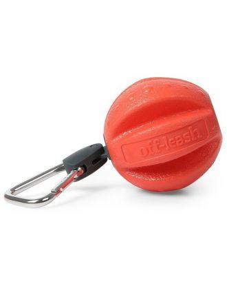 Dexas Off-Leash Ball - pływająca piłka dla psa, z karabińczykiem